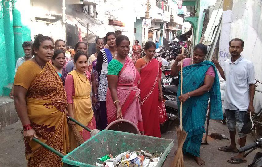 Women in Visakhapatnam, India