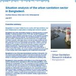 Situation analysis of the urban sanitation sector in Bangladesh