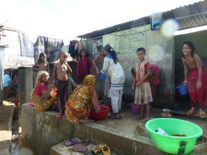 Shared sanitation in Dhaka