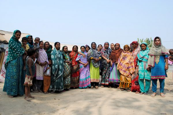 Women's community group in Chittagong
