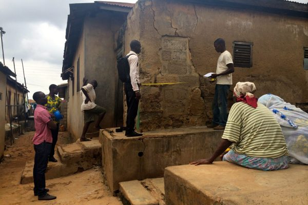 Compound sanitation Ghana