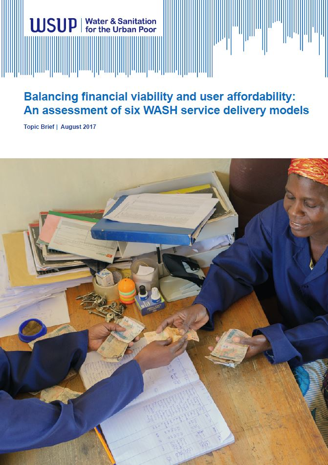 Balancing financial viability and user affordability report cover