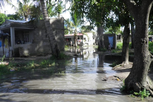Flooding in Beira, Mozambique
