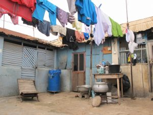 Compound housing in Accra