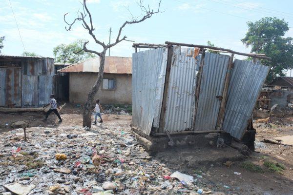 Poor sanitation in Kisumu