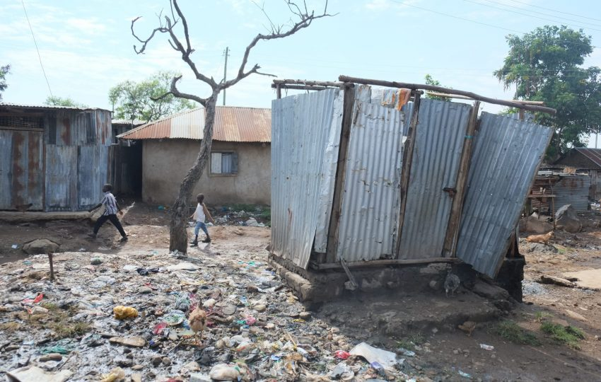 Poor sanitation in Kisumu
