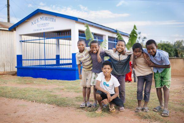 Laundry block inauguration ceremony Madagascar