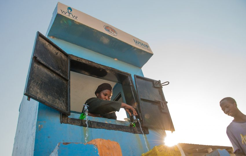 Lusaka water kiosk