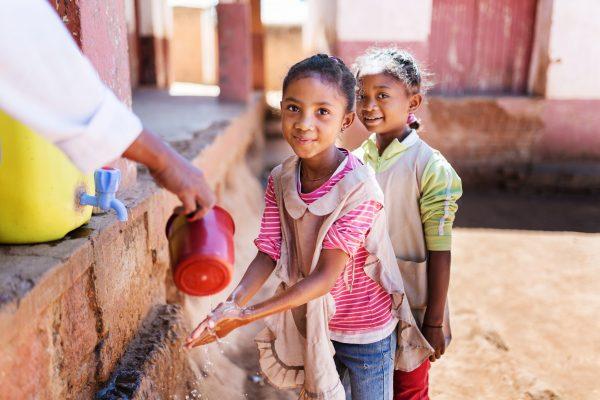A water kiosk in Antananarivo