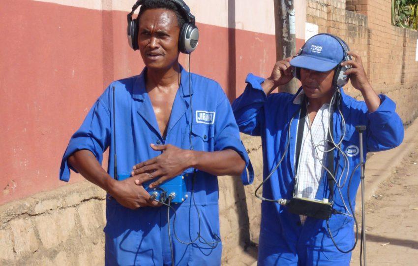 Leak detection team in Antananarivo