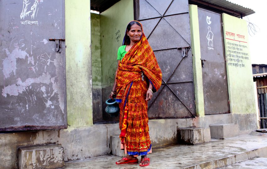 New latrines in Dhaka