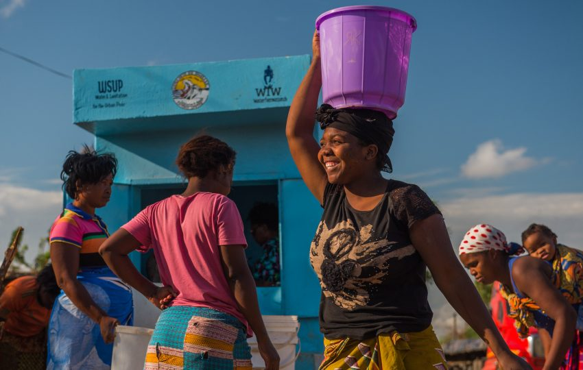 Water kiosk in Linda, Lusaka