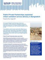 Public-Private Partnerships Bangladesh report cover