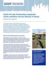 Public-Private Partnerships explained Kenya report cover