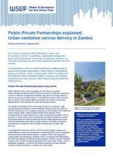 Public-Private Partnerships Zambia report cover