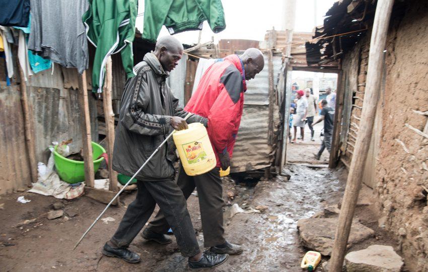 Water access in Korogocho, Nairobi