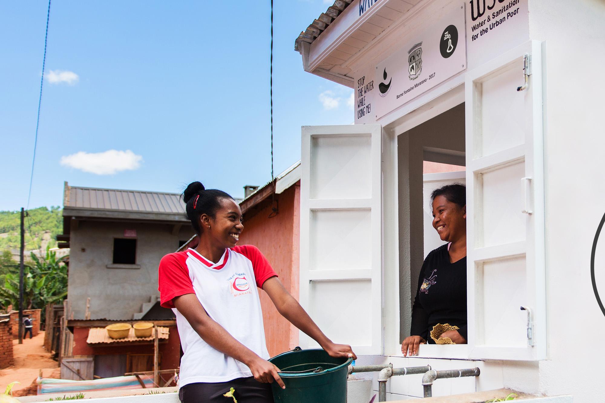 Water kiosk in Antananarivo