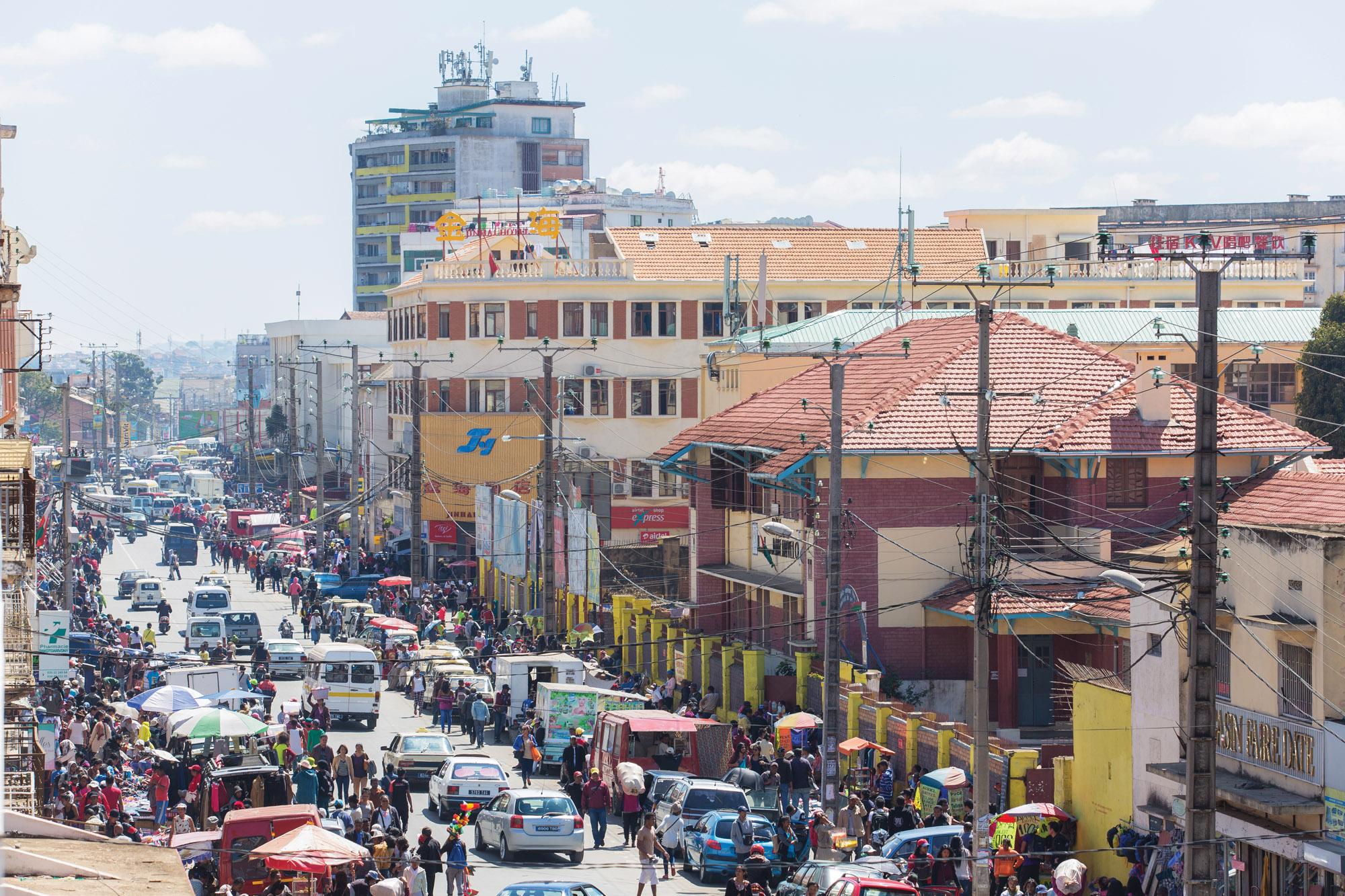 Antananarivo city landscape