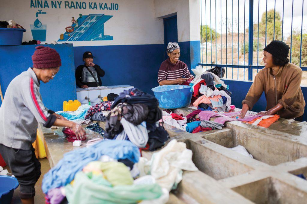 Laundry kiosk Antananarivo