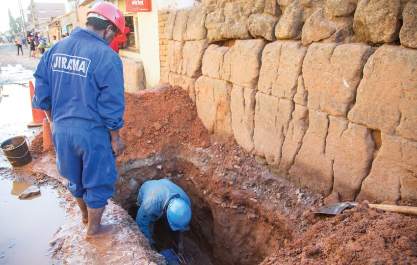 Leak reduction in Antananarivo