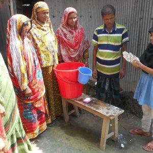 Rubaiya, a 'little doctor' in Bangladesh
