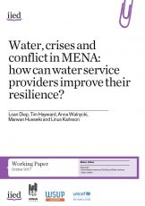 Water, crises and conflict in MENA