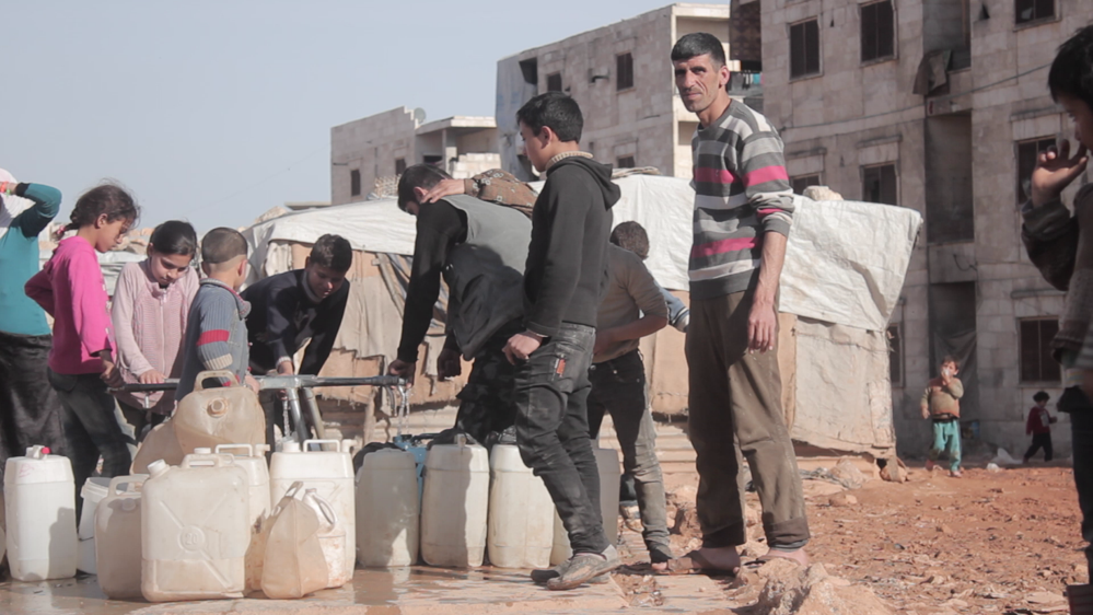 Water shortages in Aleppo, Syria