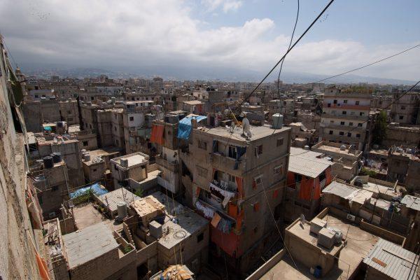 Shatilla skyline, Lebanon