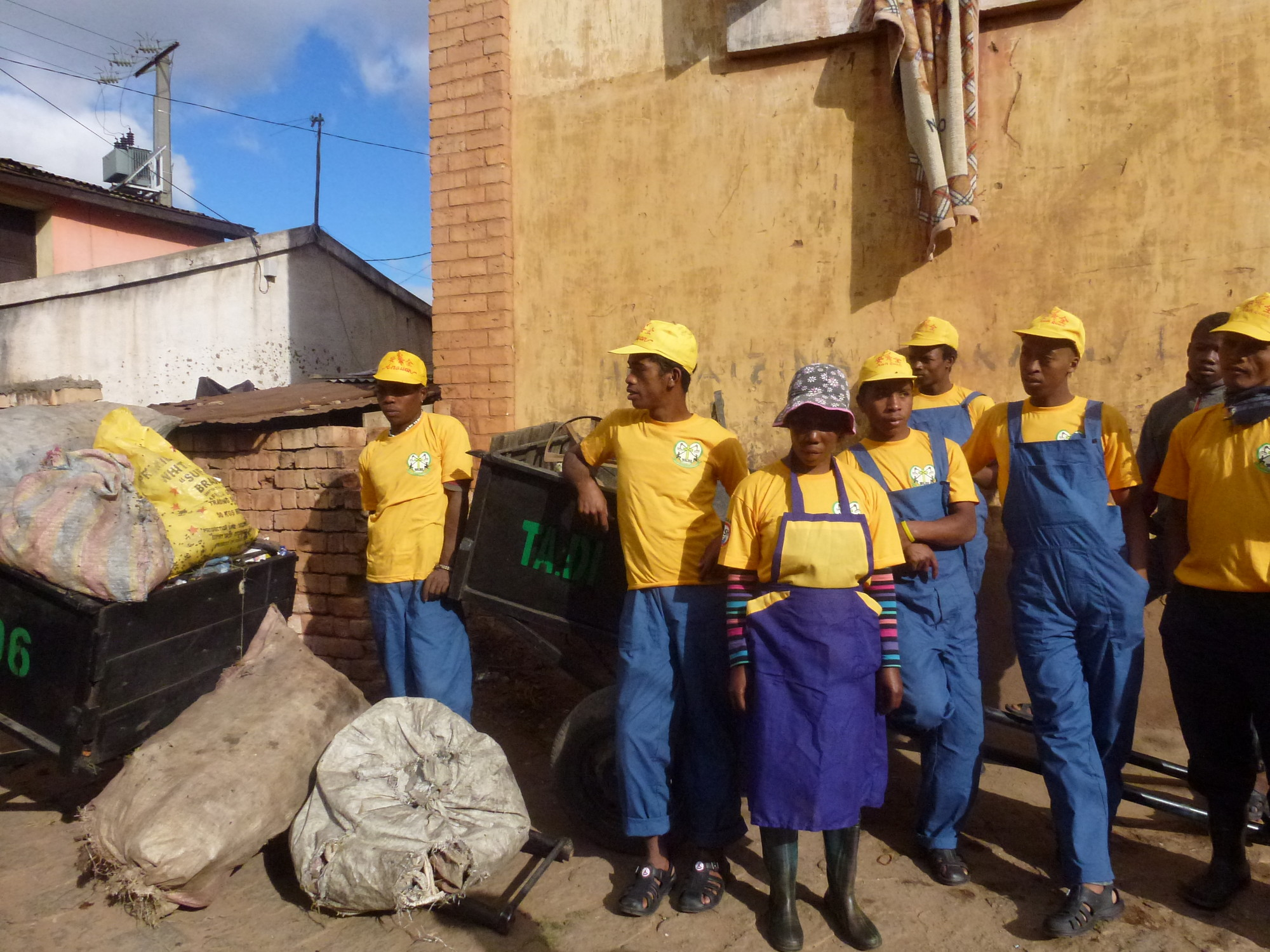 Solid waste management in Antananarivo