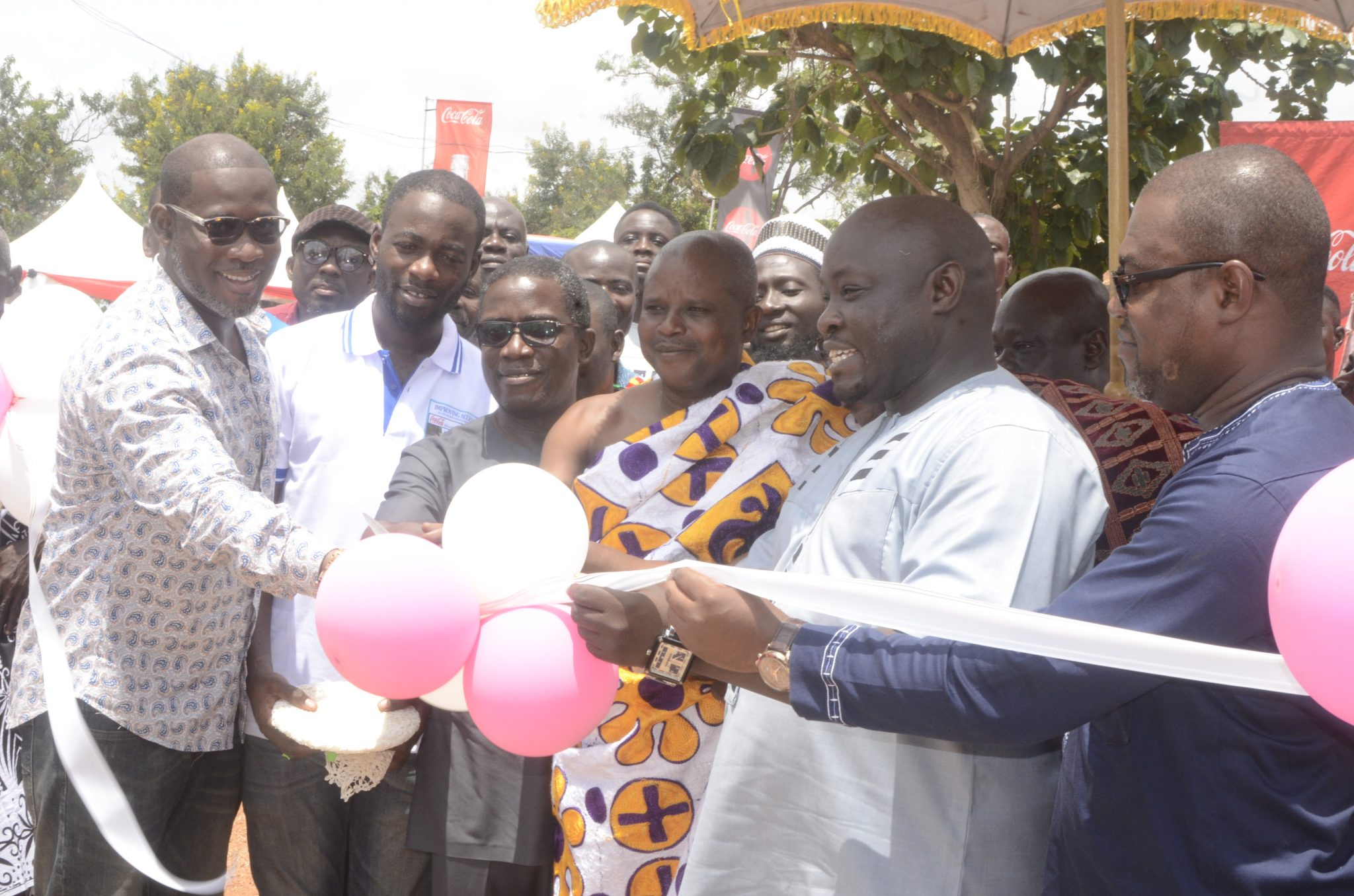 Inauguration of water network extension