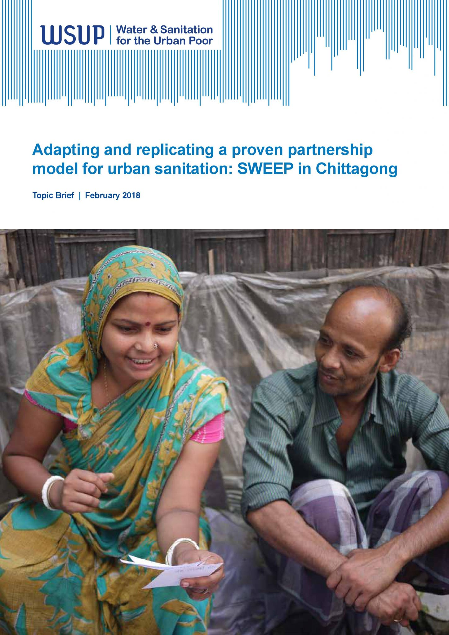 Adapting and replicating a proven partnership model for urban sanitation SWEEP in Chittagong