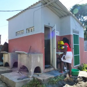 Chamanculo sanitation block, Maputo