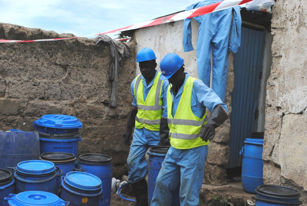 A pit latrine emptying business in Kisumu