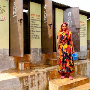 Communal WASH facilities in Kalshi slum, Dhaka