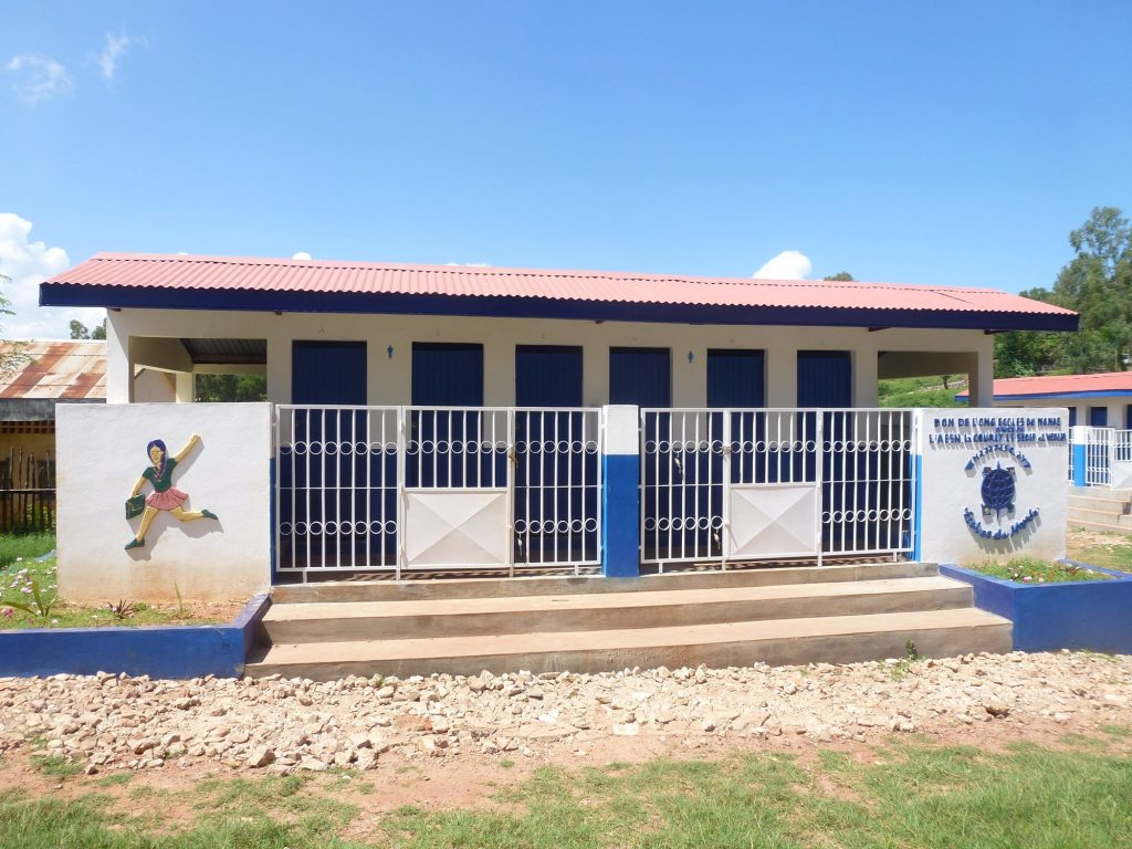 Upgrading school toilets