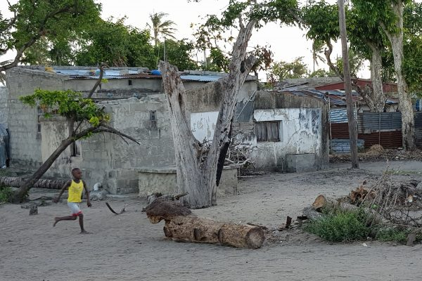Community in Beira, Mozambique