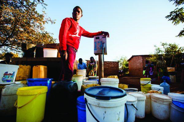 Pre-paid dispenser in Lusaka