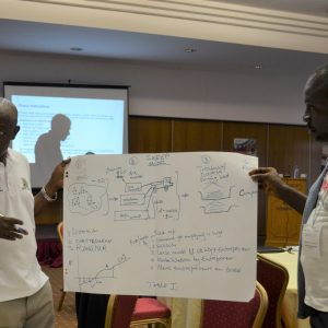 Sharing insights at the Urban WASH Inclusion Masterclass