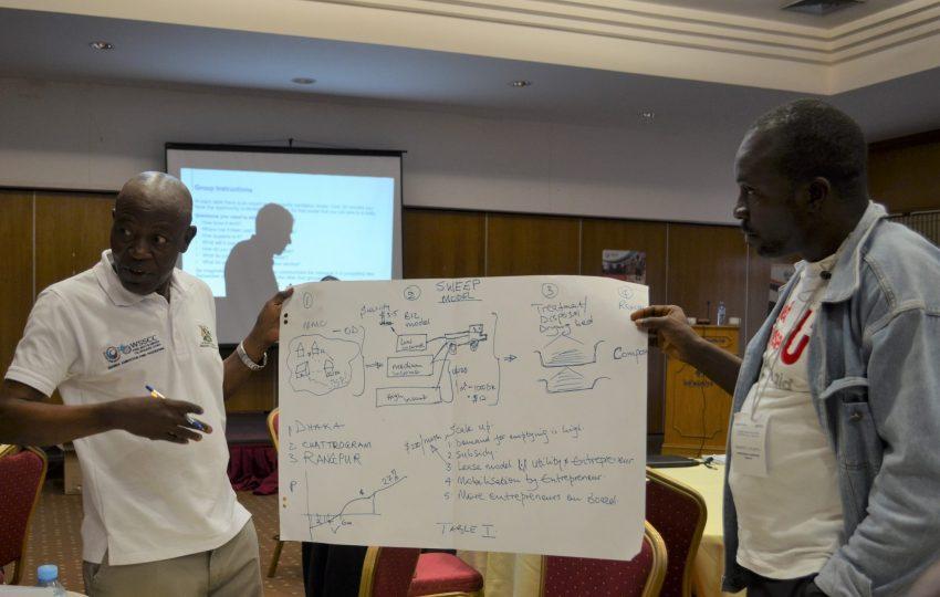 Sharing insights at the Urban WASH Inclusion Masterclass