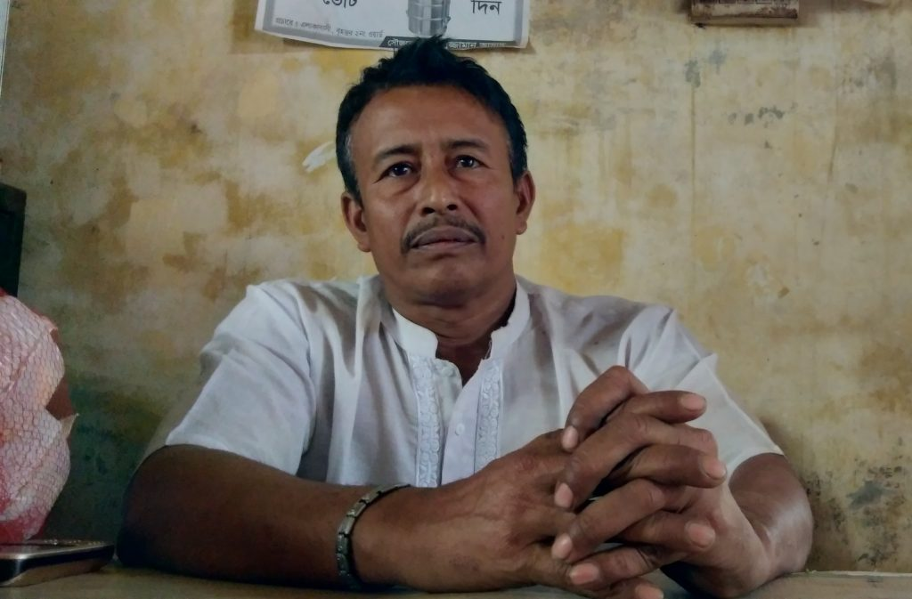 Community leader in Dhaka