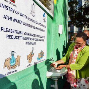 CS Water Inspects handwashing points