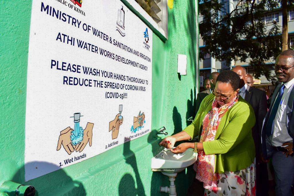 CS Water Inspects handwashing points