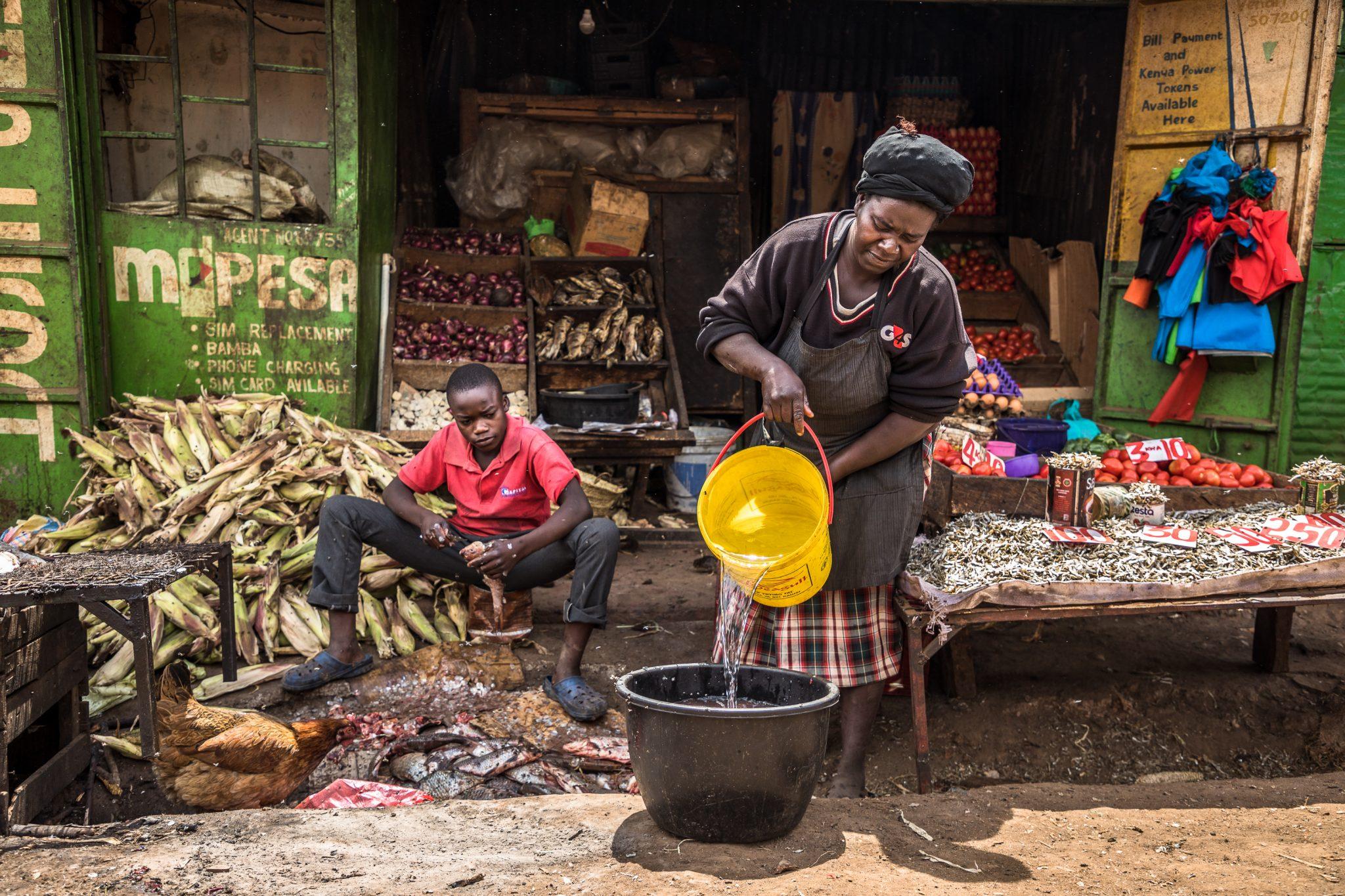 Nancy Adhiambo_ fishmonger and mother in Githogoro