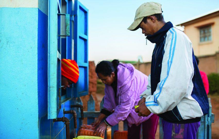 Water kiosk Madagascar