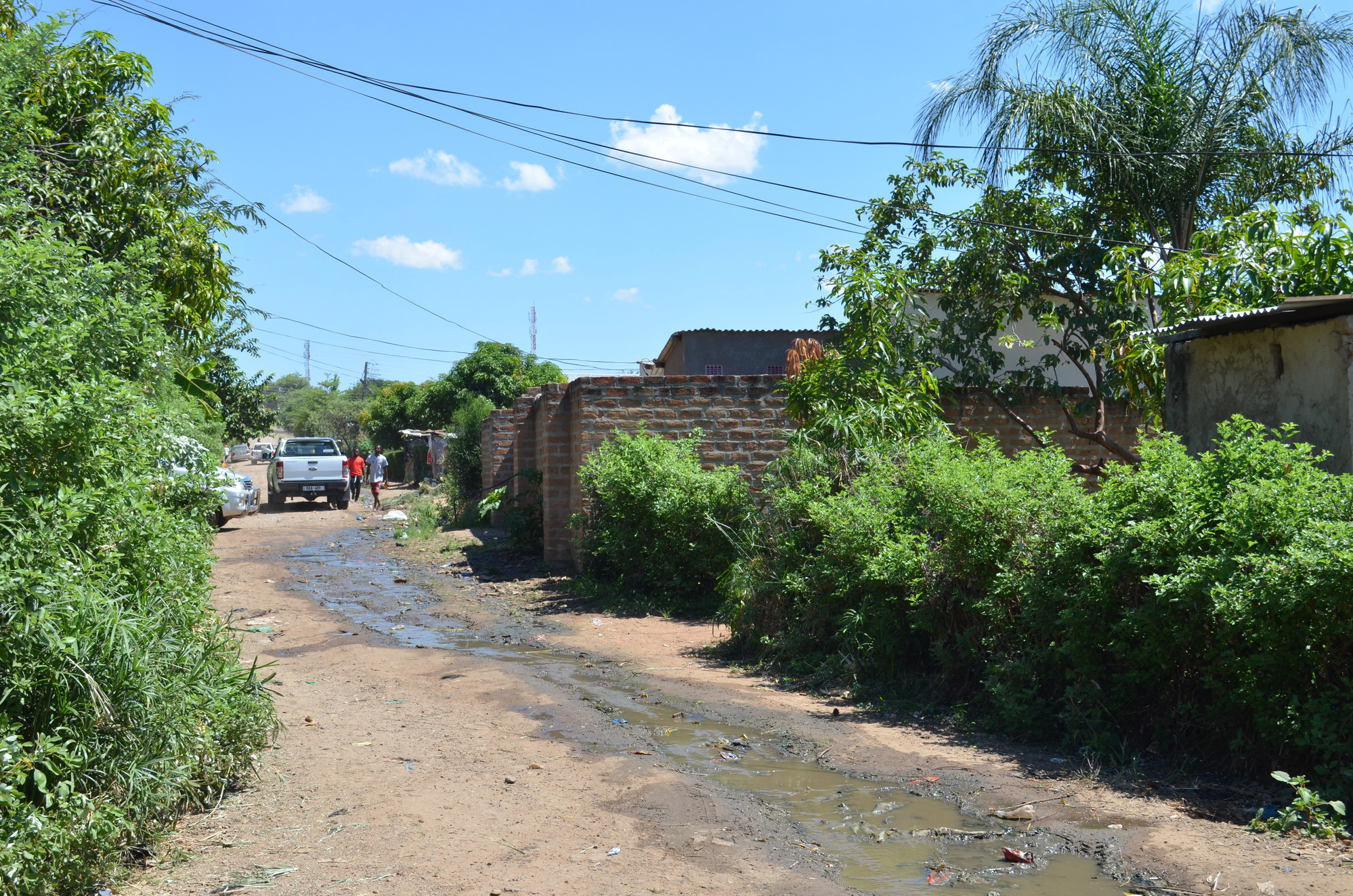 Peri-urban community Livingstone