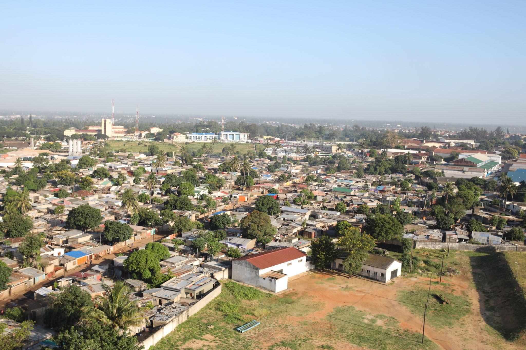 Maputo urban city landscape