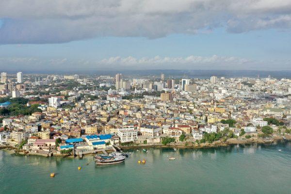 Mombasa city landscape