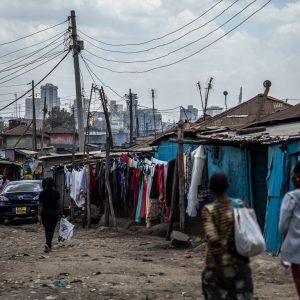 Nairobi LIC street scene