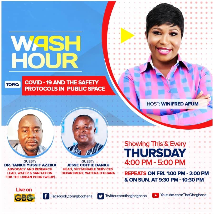 Radio programme on Handwashing during COVID