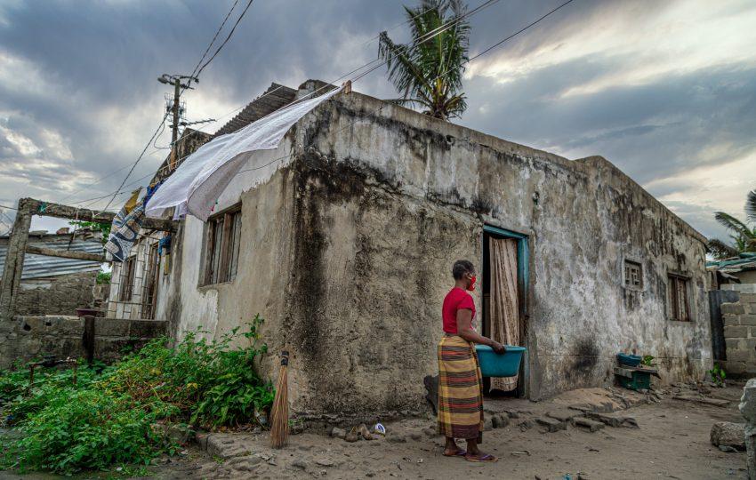 Melita Zeca, resident in Beira